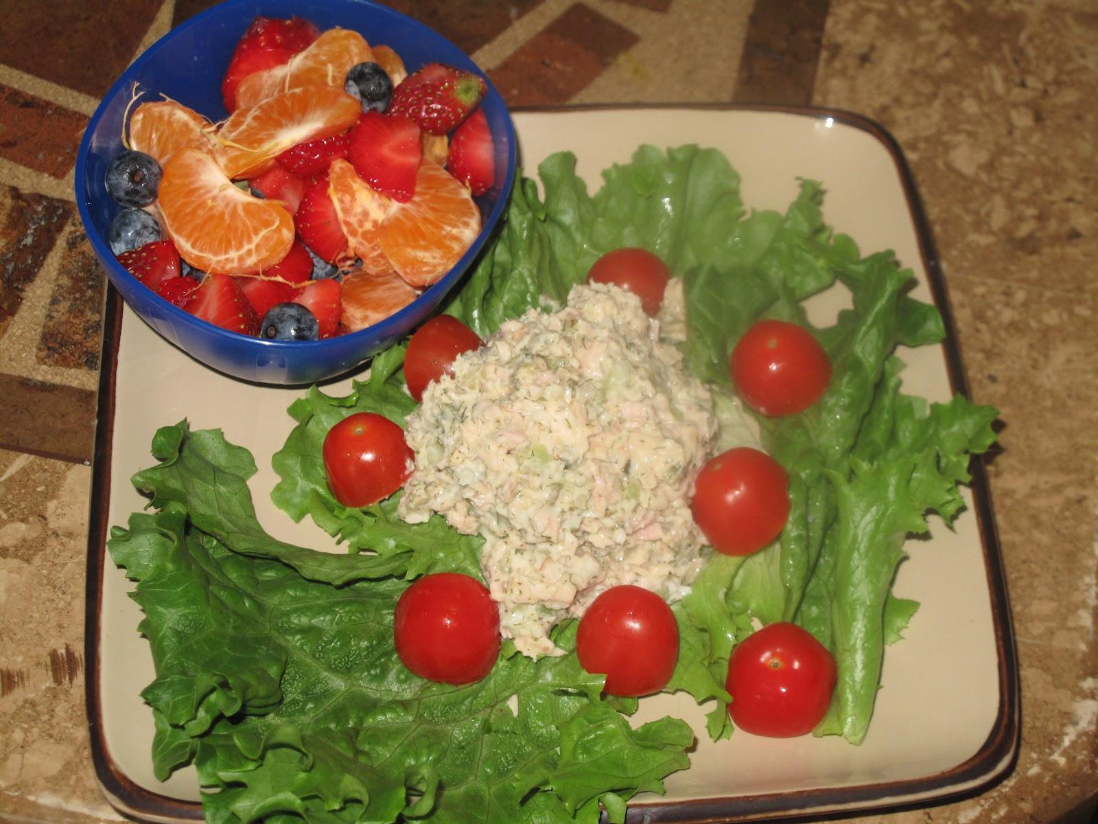 Low Fat Tuna Recipes  BJ Brinker s Home Cooking Low Fat Tuna Fish Salad