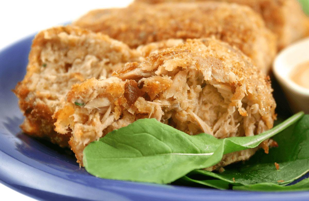 Low Fat Tuna Recipes  Parmesan Tuna Patties low fat low carb Recipe