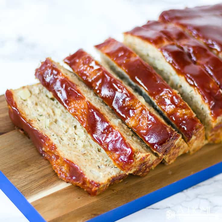 Low Fat Turkey Meatloaf  Easy and Healthy Turkey Meatloaf Recipe A Home To Grow