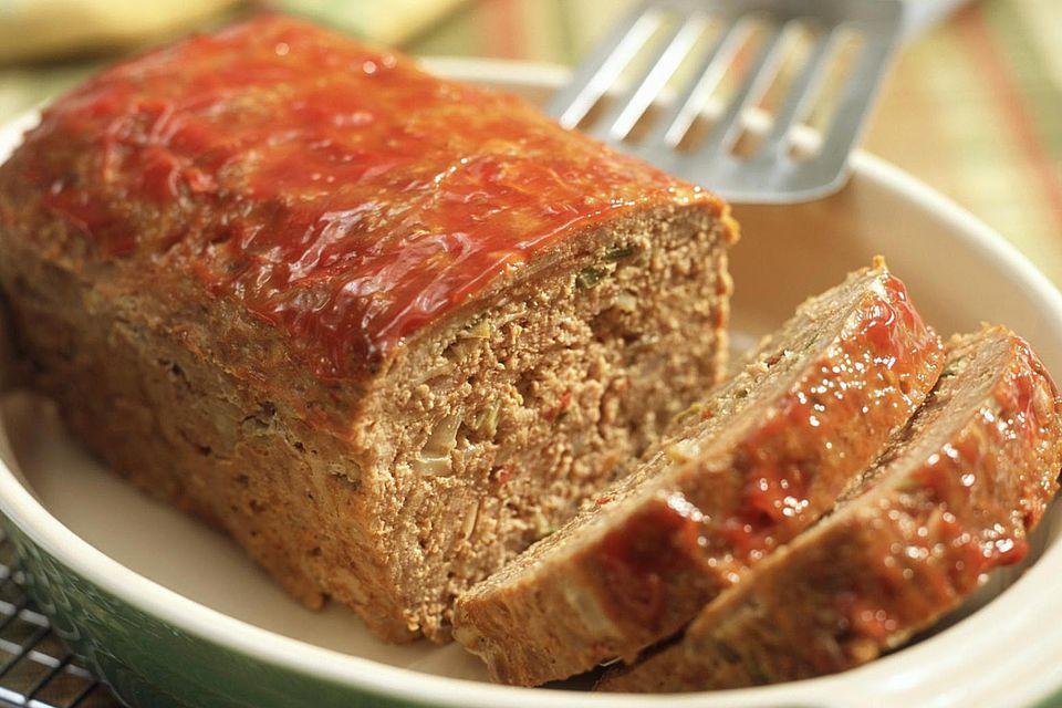 Low Fat Turkey Meatloaf  Low Fat Crockpot Turkey Meatloaf Recipe