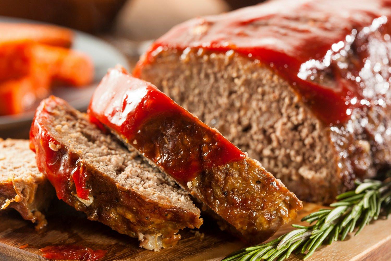Low Fat Turkey Meatloaf  Low Carb BBQ Turkey Meatloaf Slender Kitchen