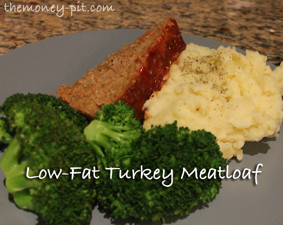 Low Fat Turkey Meatloaf  This post may contain affiliate links