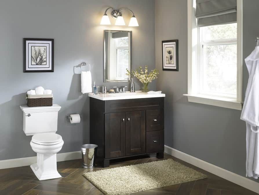 Lowes 24 Bathroom Vanity  24 inch bathroom vanity lowes Dengan gambar