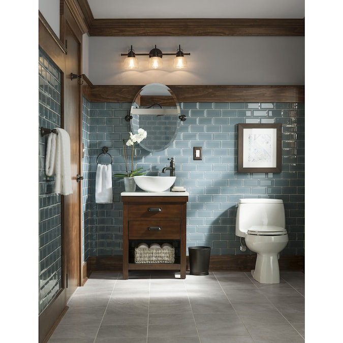Lowes 24 Bathroom Vanity  Style Selections Cromlee 24 in Bark Single Sink Bathroom