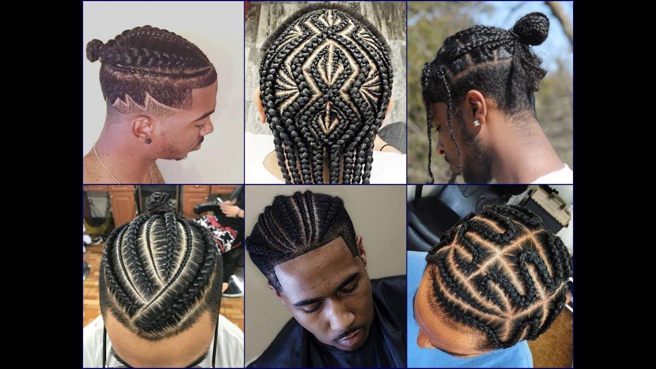 Male Braids Hairstyles  Top 30 Cool African American Men's Braids Hairstyles 2018