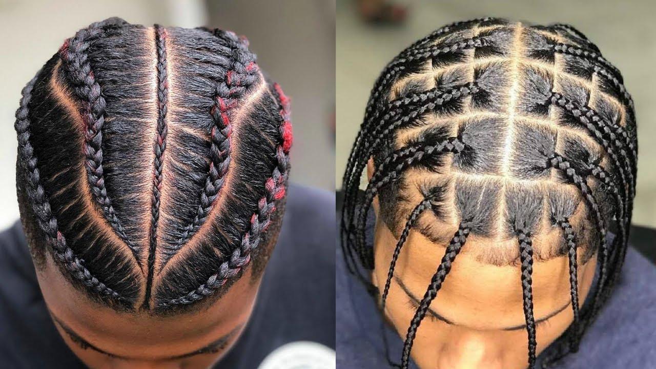 Male Braids Hairstyles  Slick Braids Styles for Men