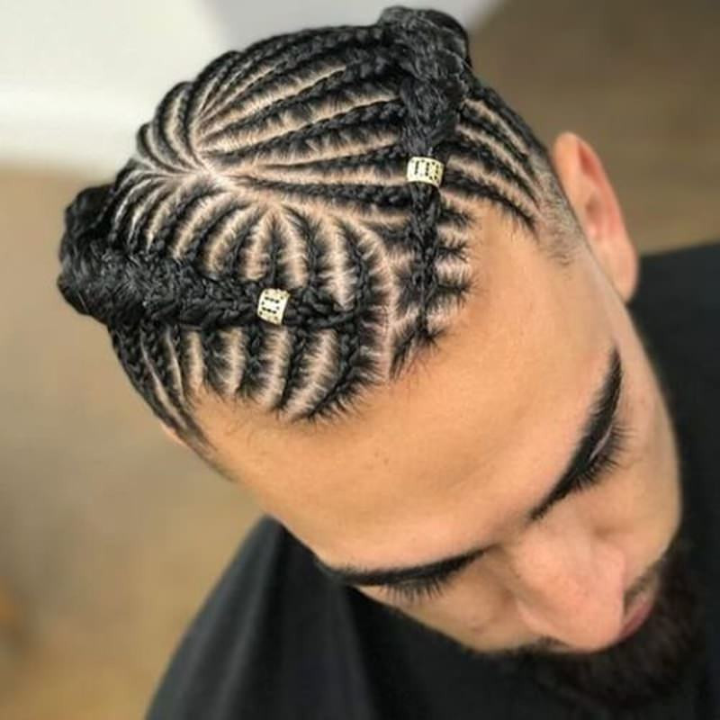 Male Braids Hairstyles  110 Popular Braids for Men and How to Wear Them