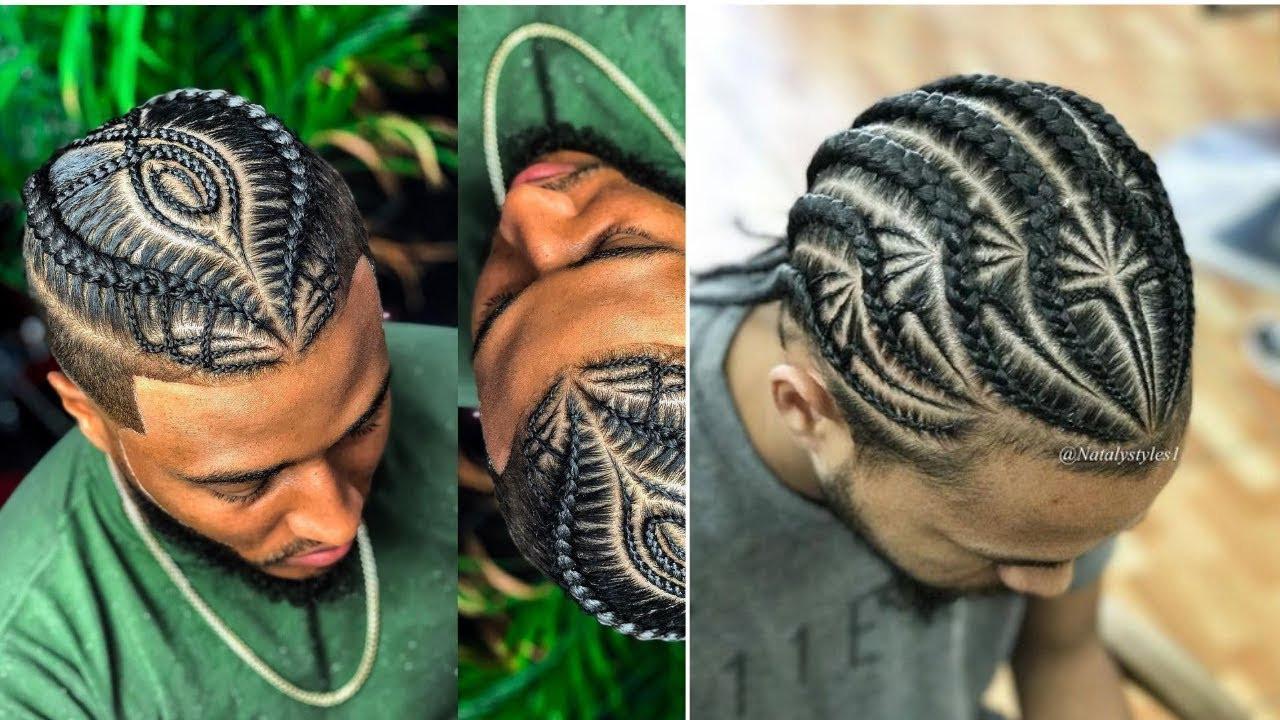 Male Braids Hairstyles  Best Most Popular Male Braids Hairstyles Man Bun