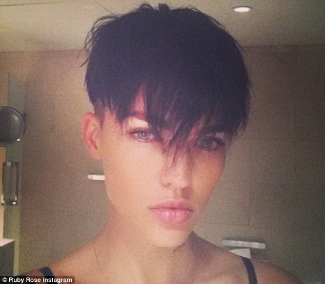 Male To Female Hairstyles  Ruby Rose reveals that she had longed to undergo a female