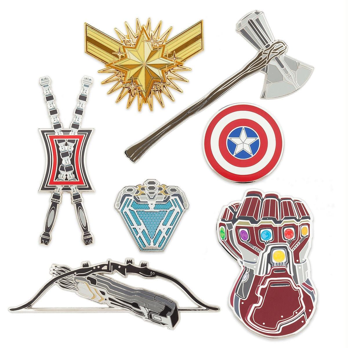 Marvel Pins  Marvel s Avengers Endgame Pin Set Out Now