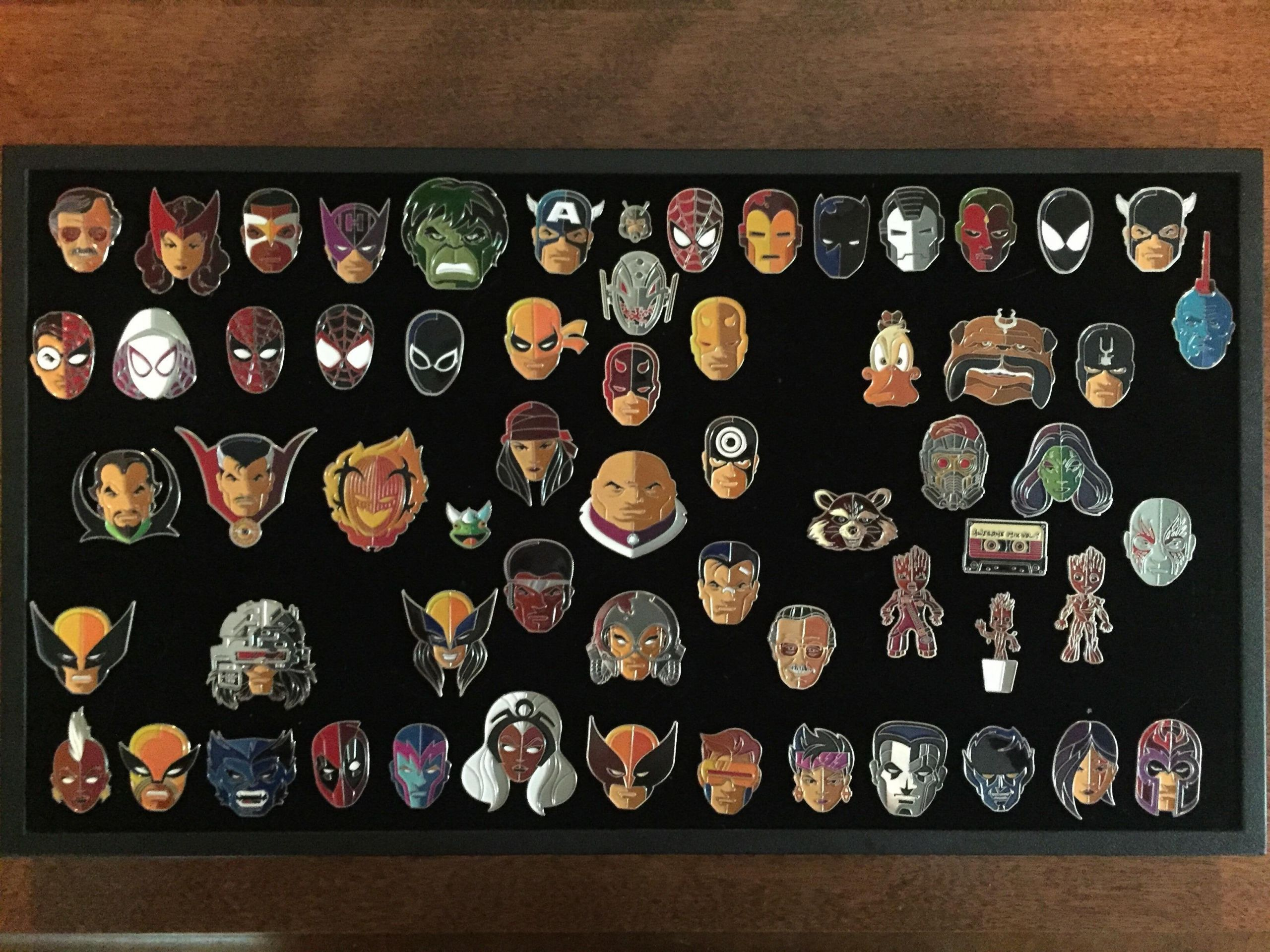 Marvel Pins  Marvel Enamel Pin Collection by Tom Whalen Marvel