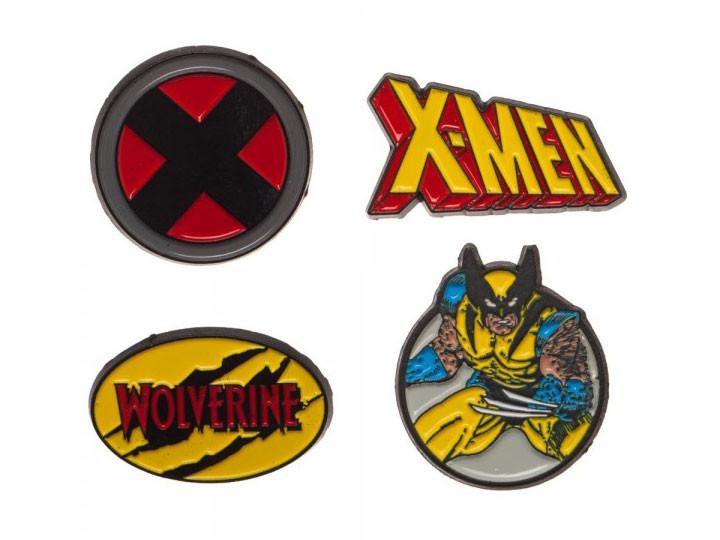 Marvel Pins  Marvel X Men Pins Set of 4 BigBadToyStore