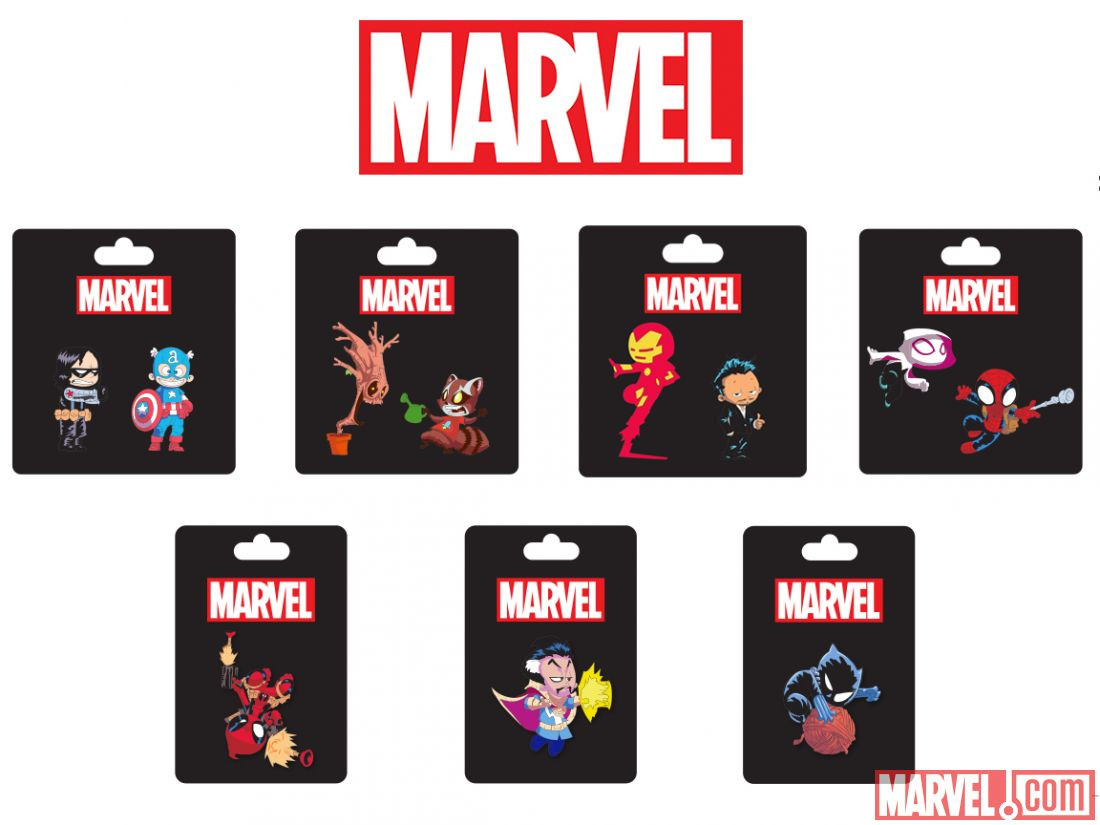 Marvel Pins  Marvel s 2016 ic Con Signings & Panels Include Black