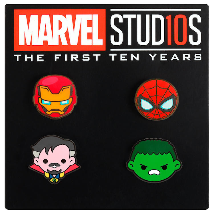 Marvel Pins  The Blot Says Marvel Studios The First Ten Years