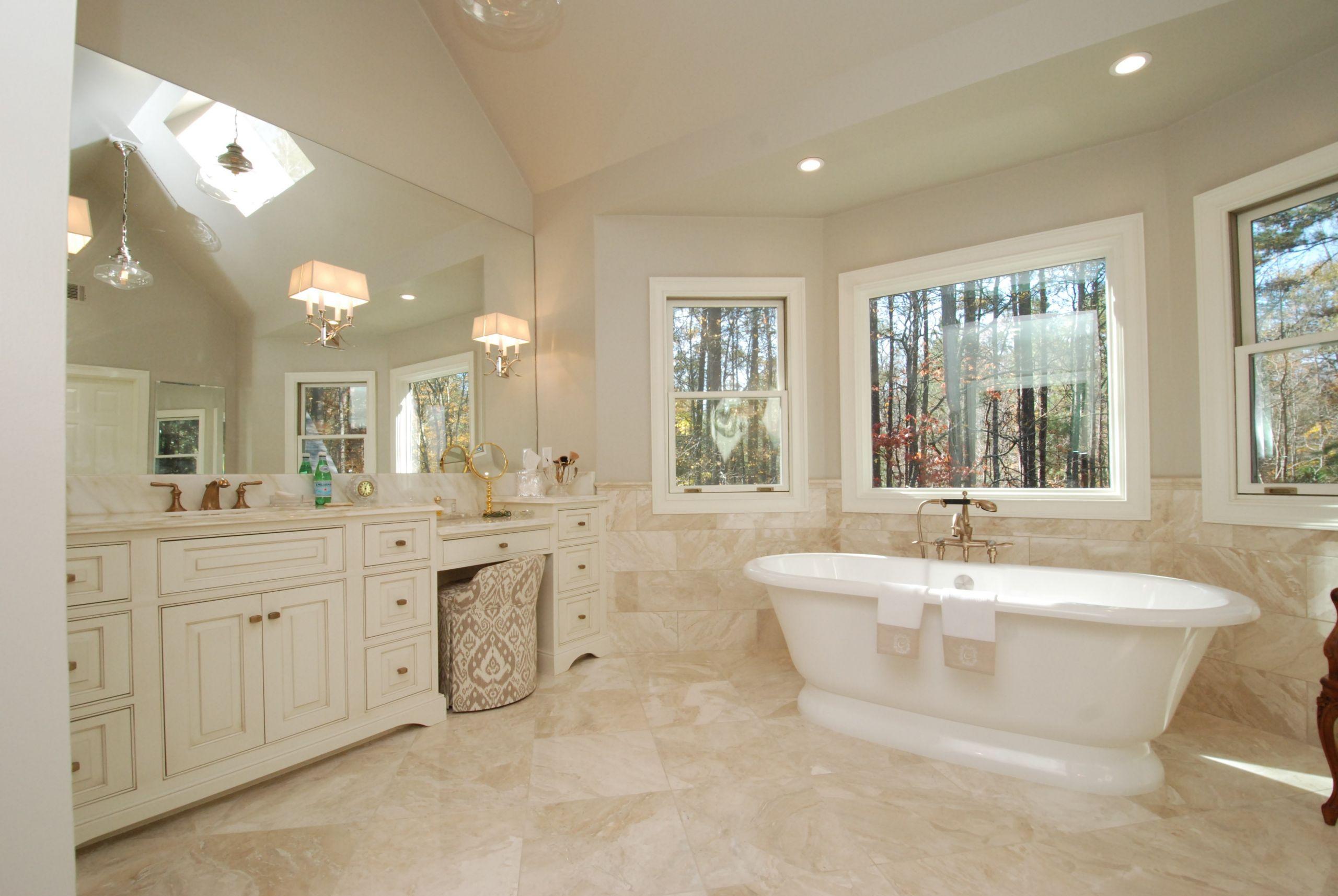 Master Bathroom Ideas Photo Gallery  Luxury Elegant Master Bathrooms Portrait Home Sweet Home