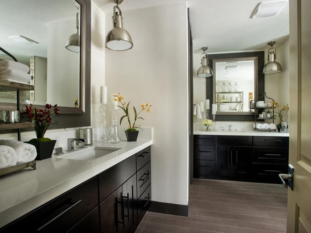 Master Bathroom Pictures  Modern Furniture HGTV Dream Home 2014 Master Bathroom
