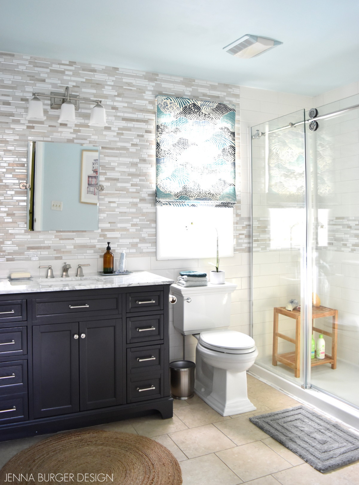 Master Bathroom Pictures  Serene Sophisticated Master Bathroom Reveal Jenna