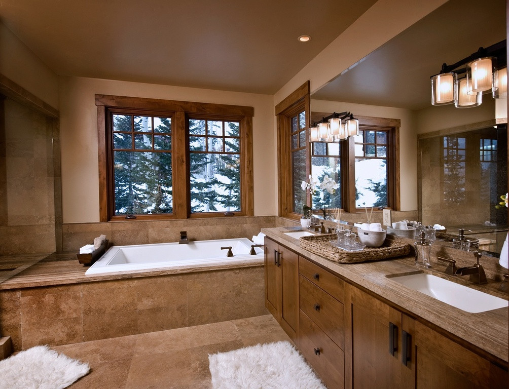 Master Bathroom Pictures  Luxurious Master Bathrooms Design Ideas With