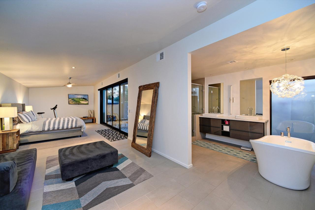 Master Bedroom Bathroom  25 Sensuous Open Bathroom Concept For Master Bedrooms
