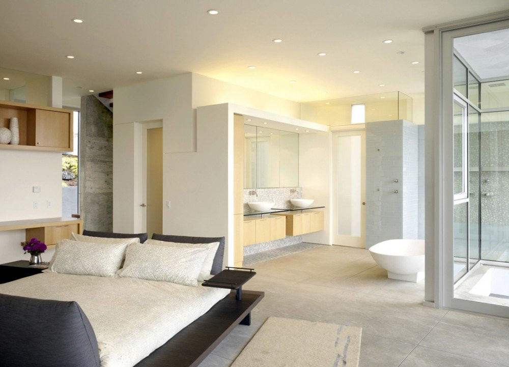 Master Bedroom Bathroom  Open Bathroom Concept for Master Bedrooms