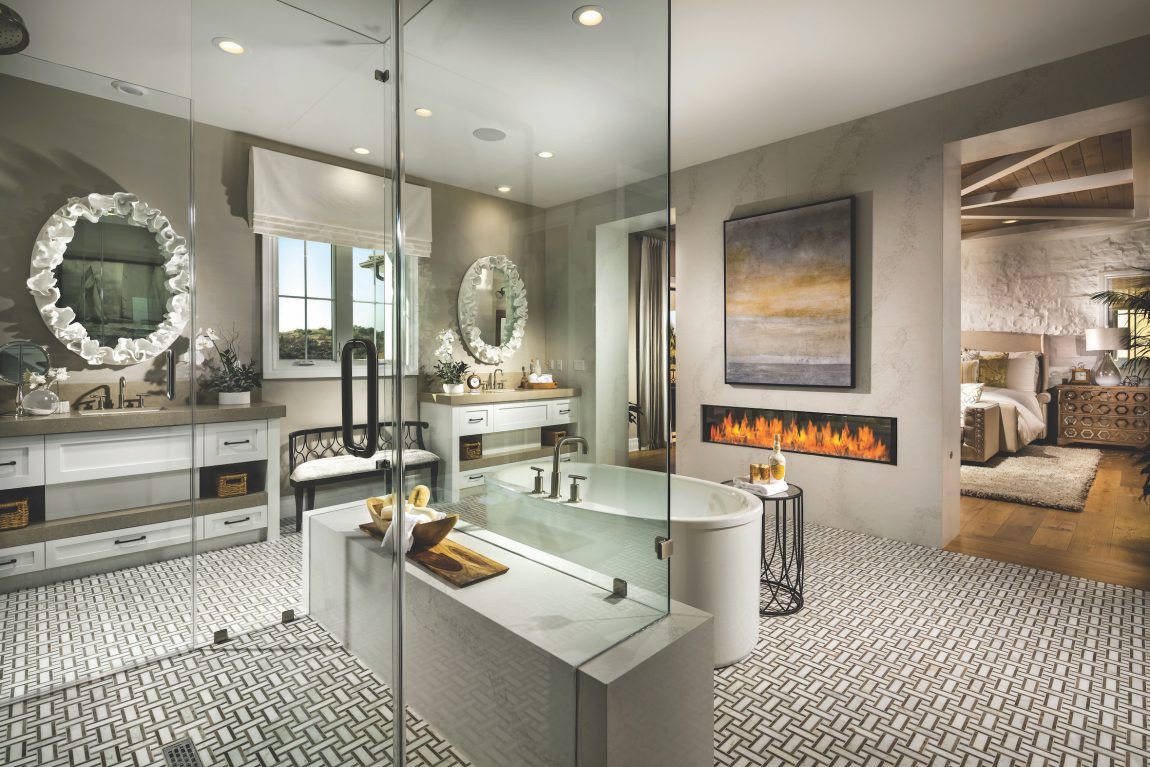 Master Bedroom Bathroom  The Modern Dual Master Bedroom Trend in Luxury Homes