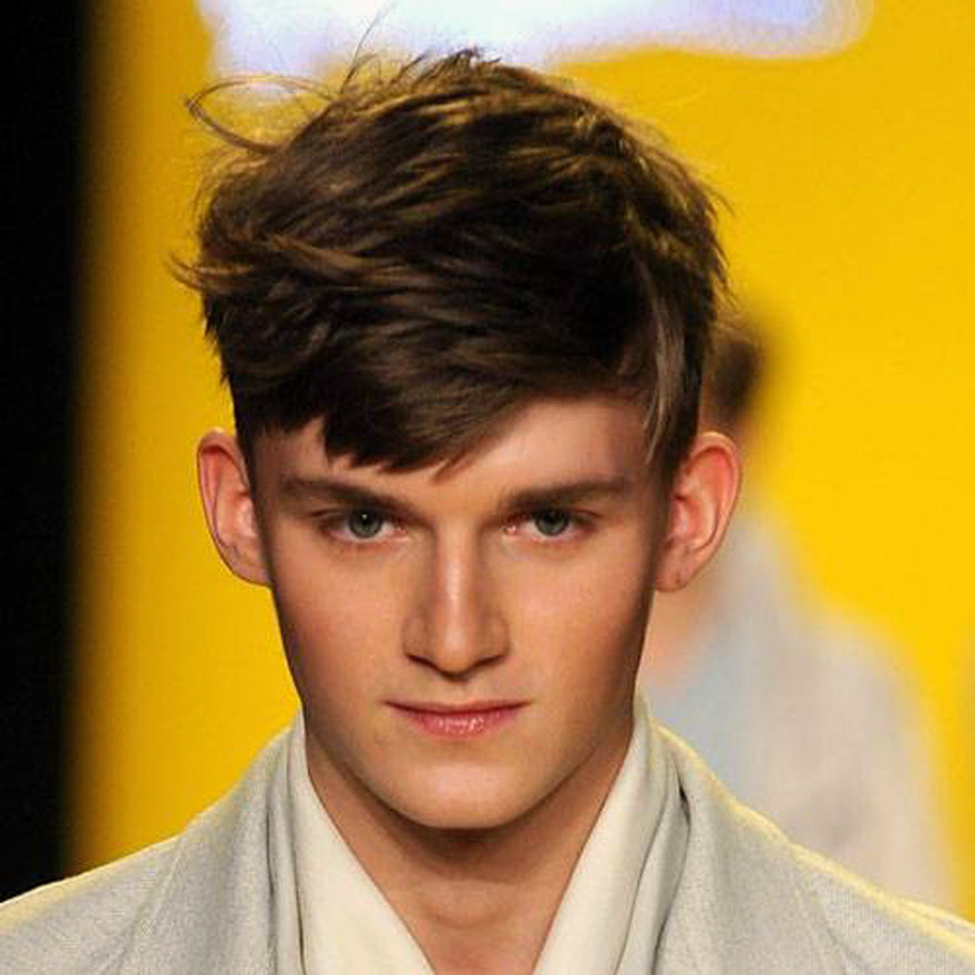 Men'S Long On Top Hairstyles  Short Sides Long Top Haircut Men Fashion