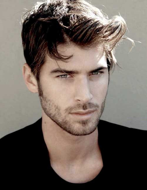 Men'S Long On Top Hairstyles  Mens Hair Short Sides Long Top