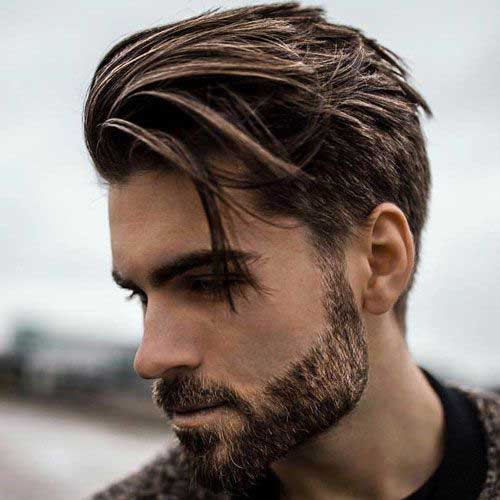 Men'S Long On Top Hairstyles  Short Side Long Top Hairstyles for Men