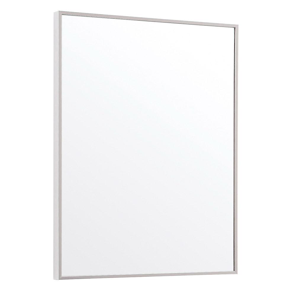Metal Framed Mirrors Bathroom  Sonoma Aluminum Metal Frame Bathroom Mirror