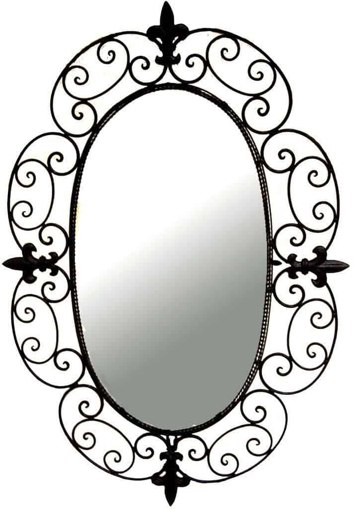Metal Framed Mirrors Bathroom  The Best Oval Mirrors for your Bathroom