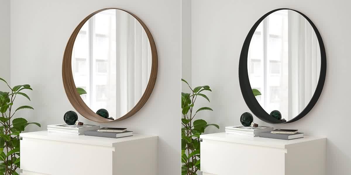 Metal Framed Mirrors Bathroom  KOXZE MIRROR