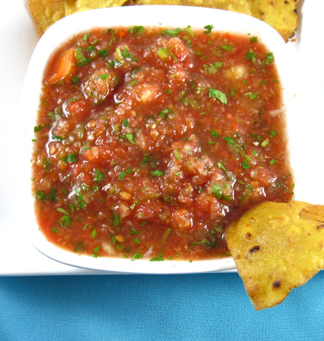 Mexican Salsa Recipe For Canning  Homemade Salsa Recipe – Mexican Restaurant Style