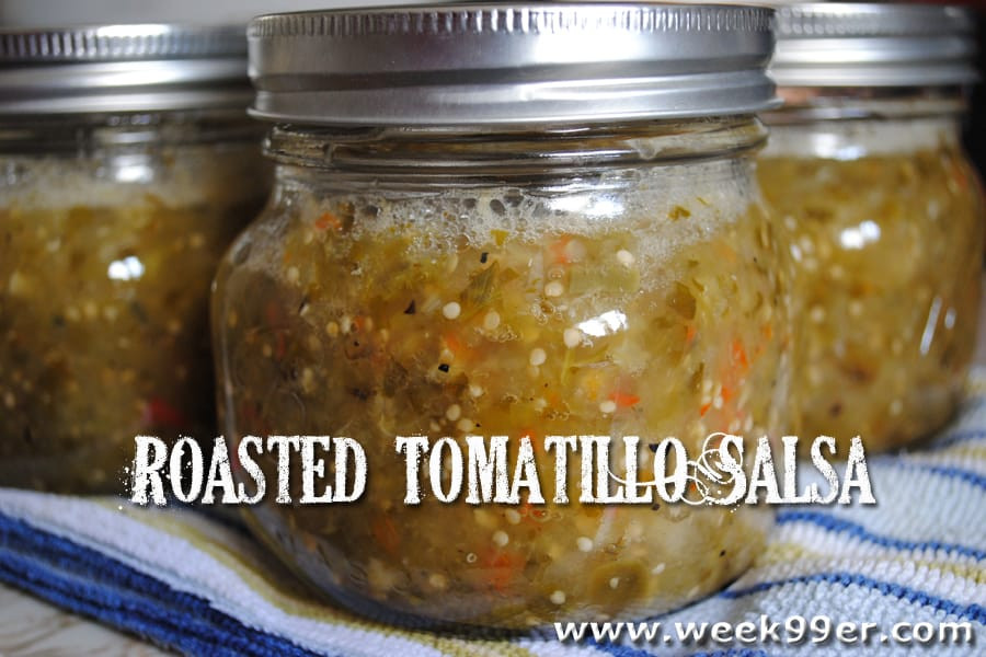 Mexican Salsa Recipe For Canning  Roasted Tomatillo Salsa Canning Recipe