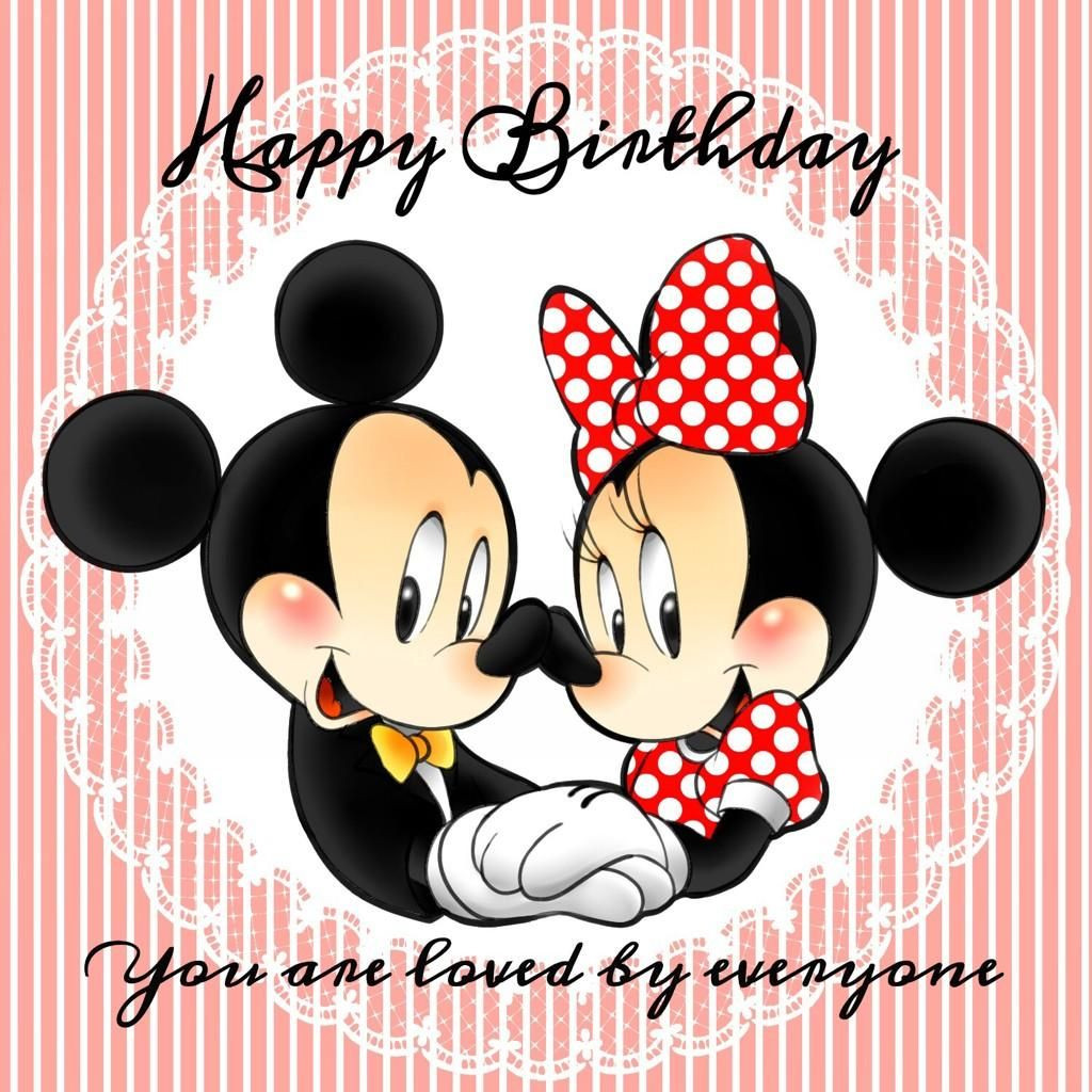 Mickey Mouse Birthday Quotes  とんちゃん on
