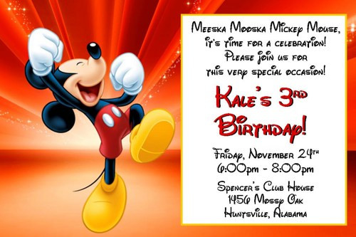 Mickey Mouse Birthday Quotes  Mickey Mouse Birthday Quotes QuotesGram