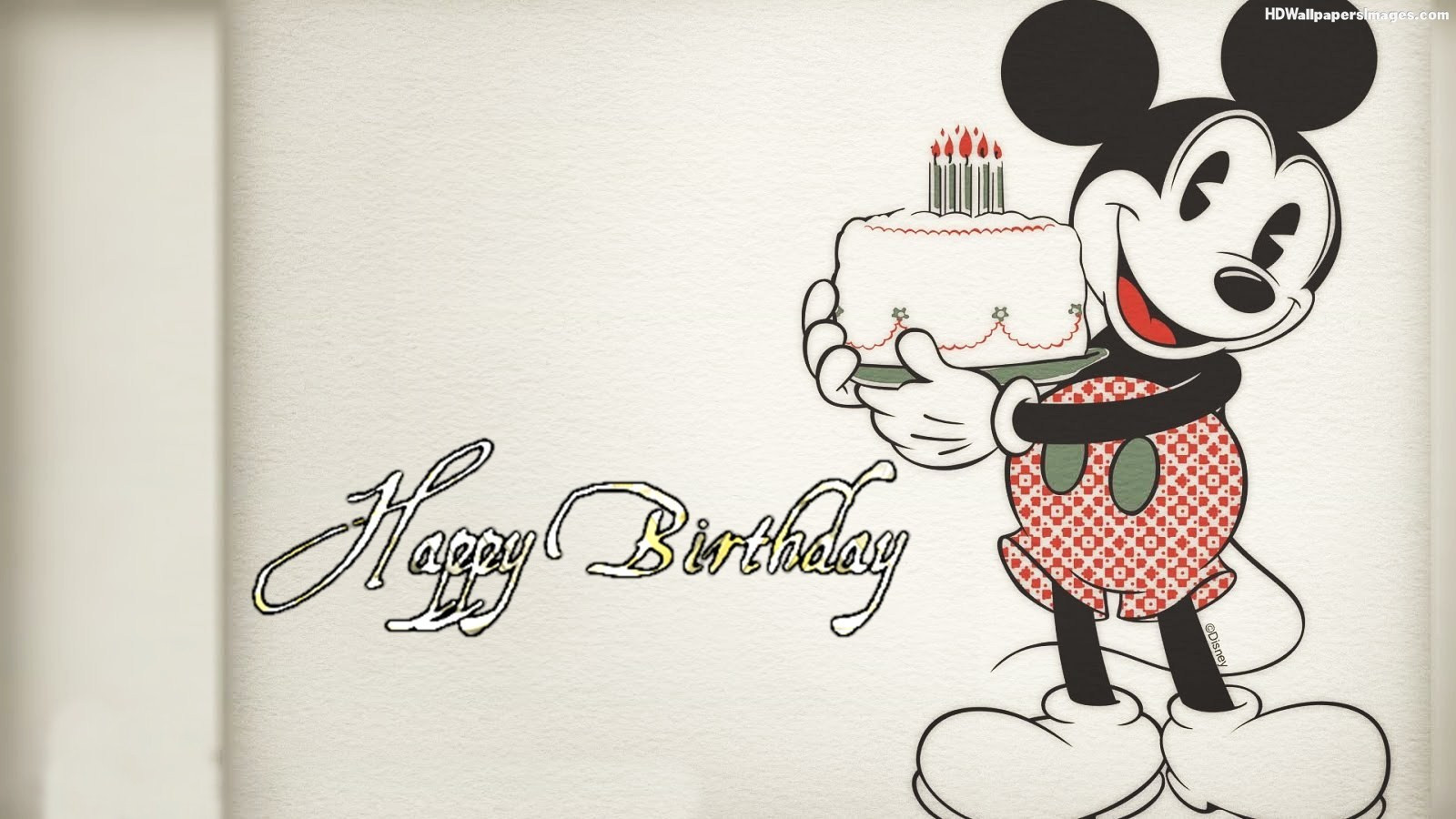 Mickey Mouse Birthday Quotes  Mickey Mouse Happy Birthday Quotes QuotesGram