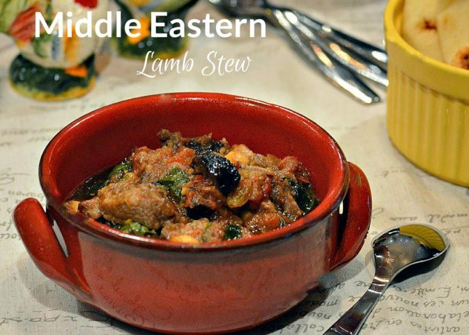 Middle East Lamb Stew  LAMB SHOULDER The first ingre nt in a good stew