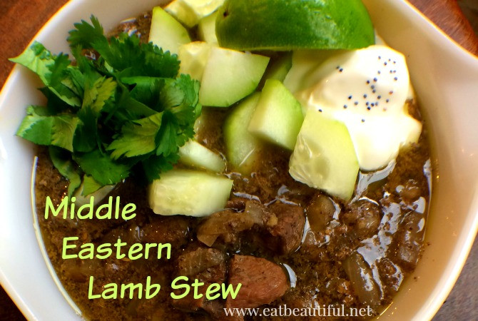 Middle East Lamb Stew  Middle Eastern Lamb Stew — Paleo GAPS KETO Slow Cooker