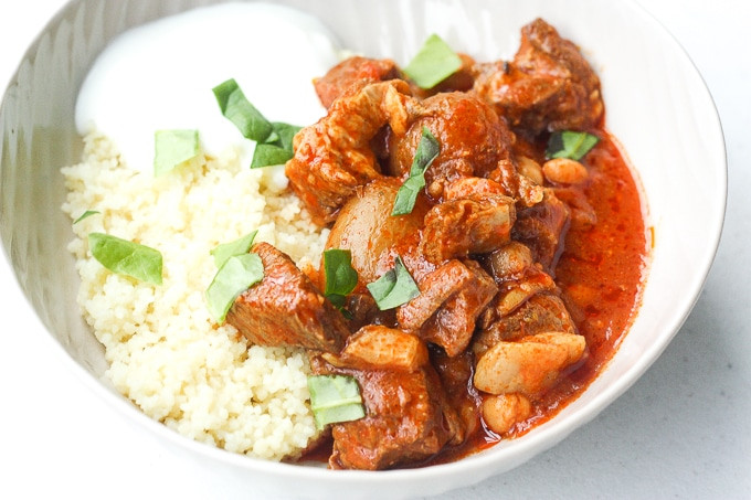 Middle East Lamb Stew  Slow Cooker Moroccan Lamb Stew