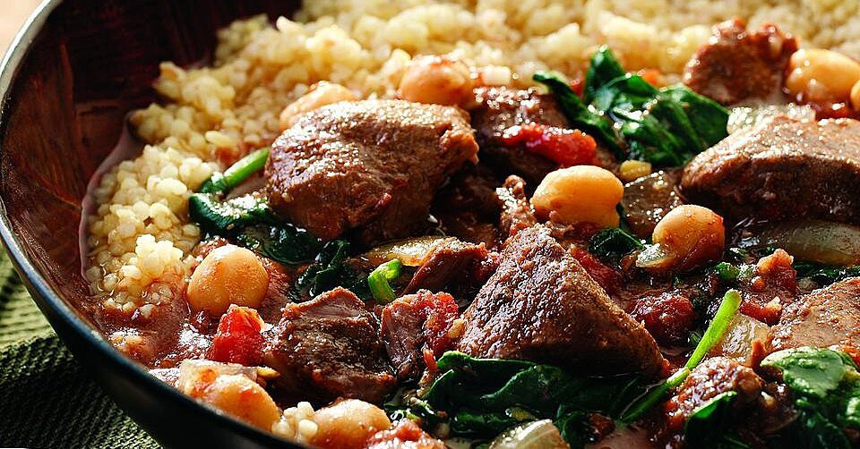 Middle East Lamb Stew  Middle Eastern Lamb Stew Recipe