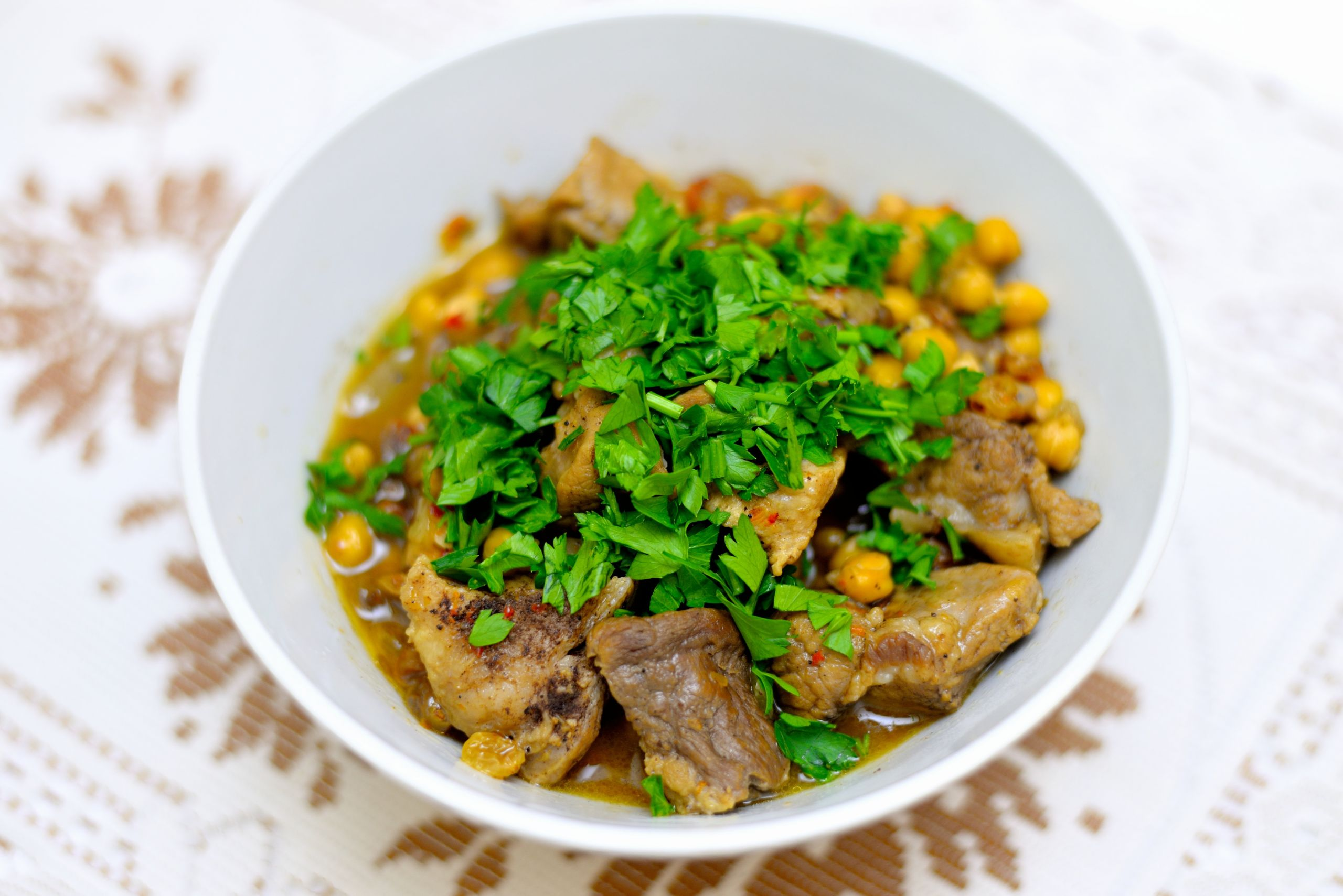 Middle East Lamb Stew  How to Make Middle Eastern Lamb Stew 10 Steps with