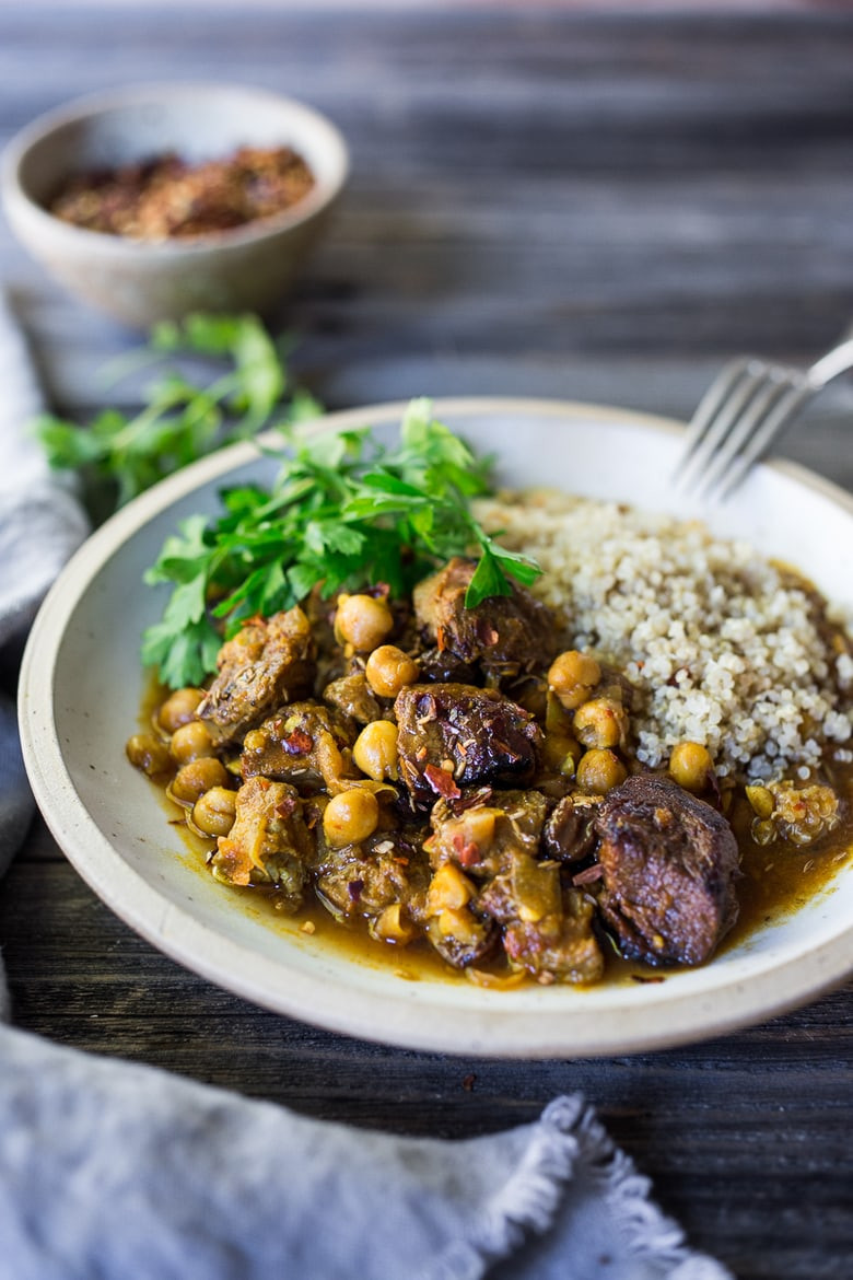 Middle East Lamb Stew  Instant Pot Middle Eastern Lamb Stew