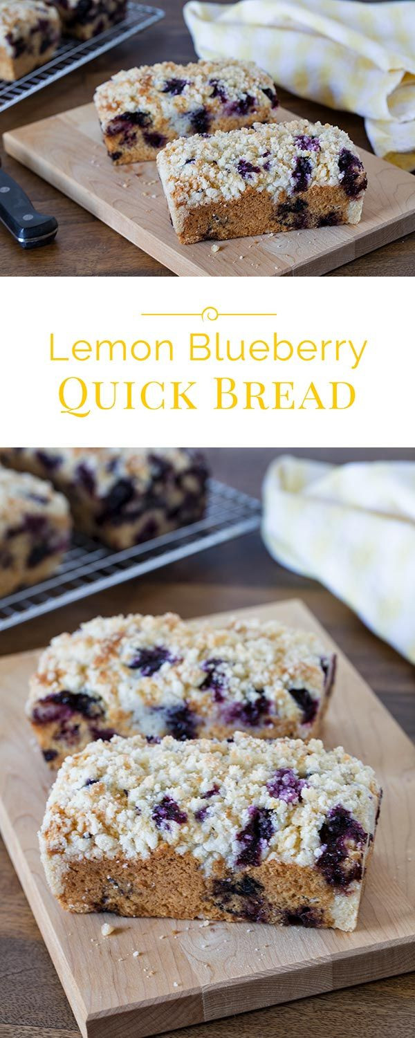 Mini Quick Bread Recipes  Lemon Blueberry Quick Bread Recipe