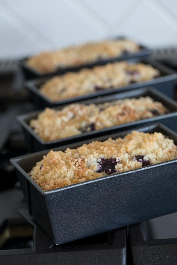 Mini Quick Bread Recipes  Lemon Blueberry Quick Bread Recipe from Barbara Bakes