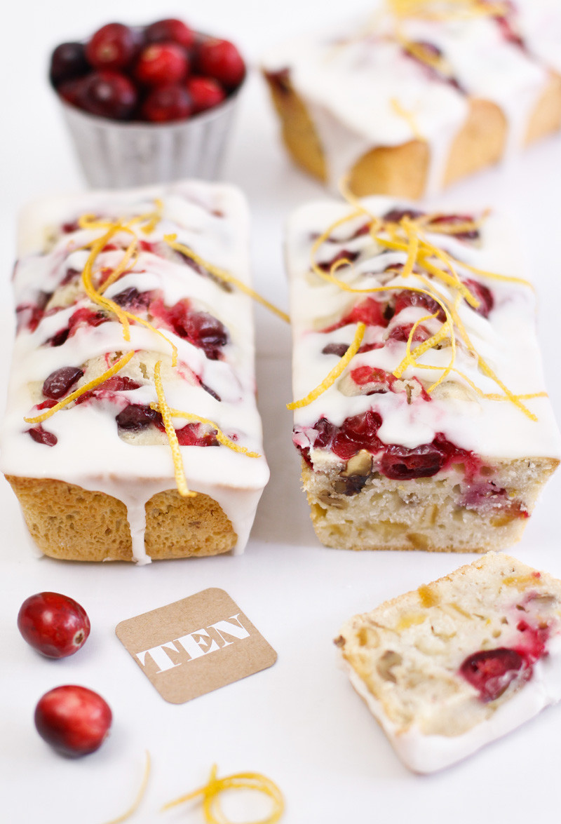 Mini Quick Bread Recipes  Gift This Cranberry Orange Quick Bread