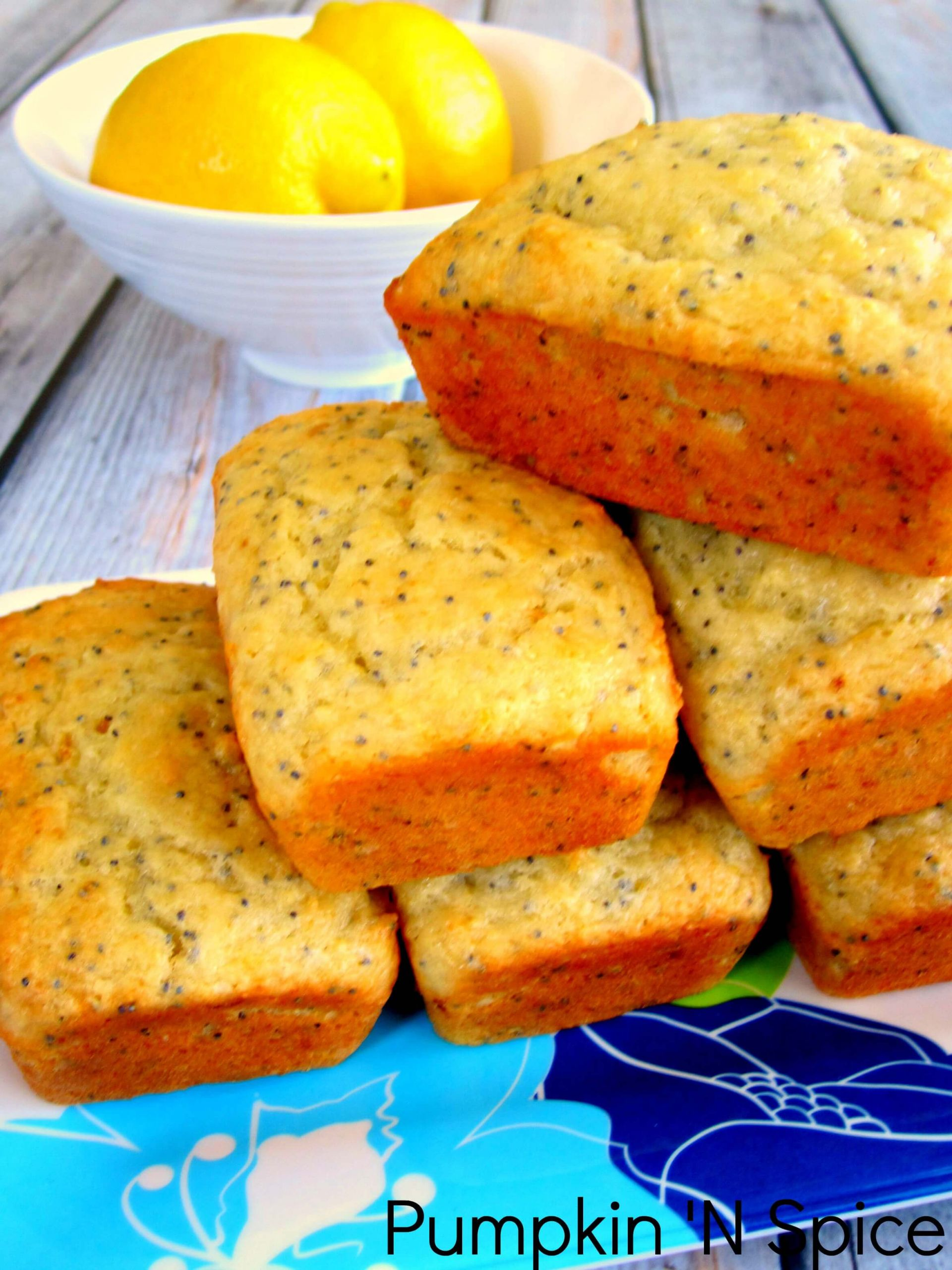 Mini Quick Bread Recipes  Mini Lemon Poppy Seed Loaves Pumpkin N Spice