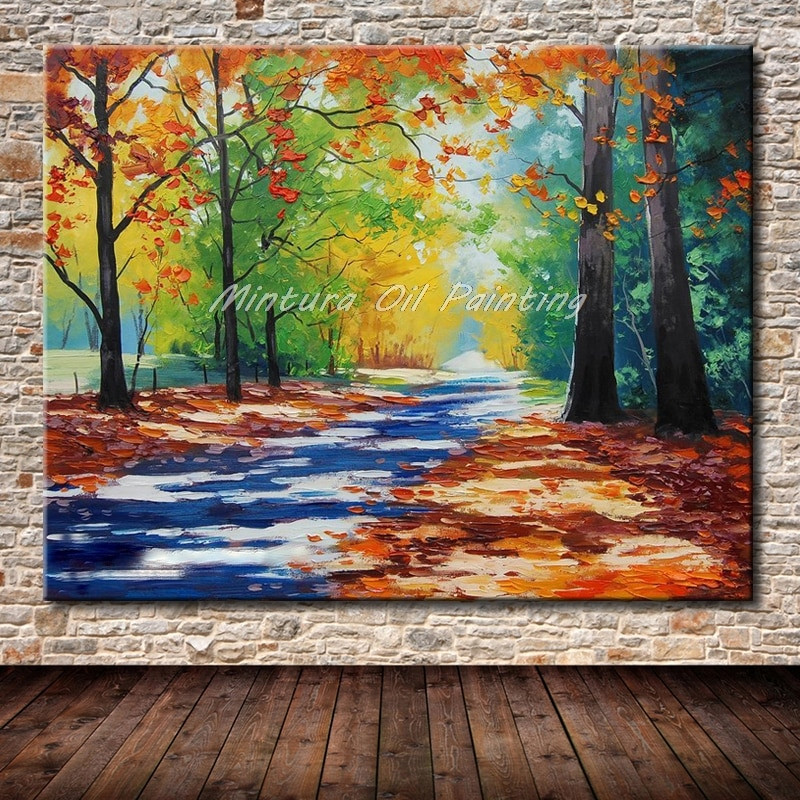 Modernist Landscape Paintings  NEW Hand Made Home Decoration Ppainting Famous Oil
