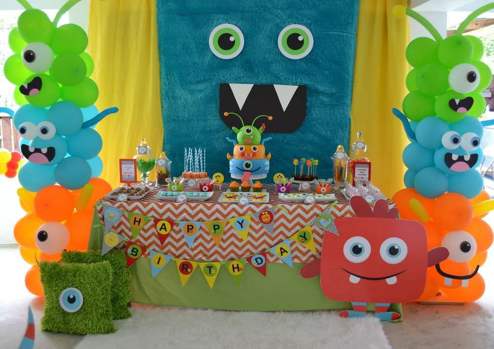 Monster Birthday Party Decorations  Monsters Birthday Party Ideas