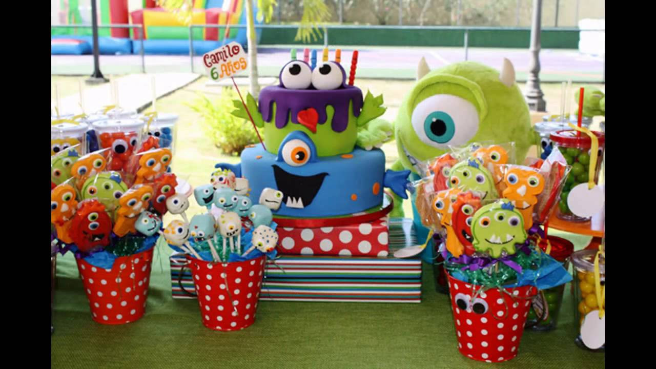 Monster Birthday Party Decorations  Amazing Monster birthday party decorations ideas