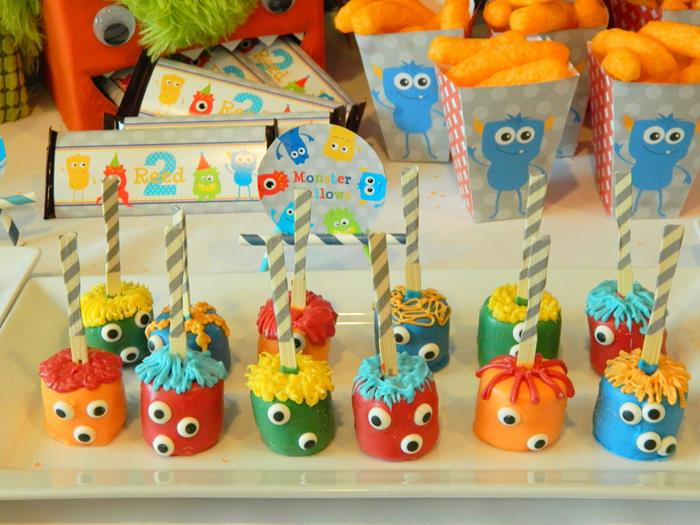 Monster Birthday Party Decorations  Kara s Party Ideas Monster Bash Party Cute Ideas